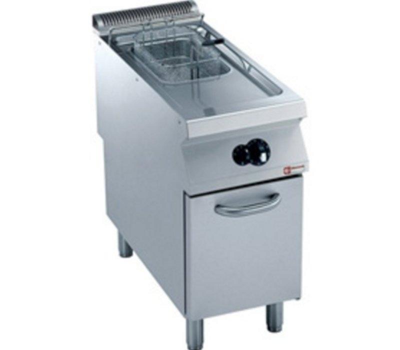 Diamond Gas Fryer | 15 Liter | Außen-Brenner | auf Kabinett | 400x900x (h) 850 / 920mm