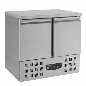 XXLselect Freeze Workbench SS - 2 Doors - Engine under - 95x70x (h) 85,5cm
