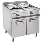 Diamond Gas Fryer | 20 Liter | Closed Case With Hinged | 800x900x (h) 850 / 920mm