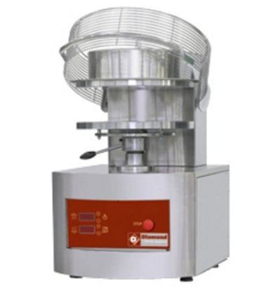 Diamond Pizza Grain crusher / pizza Form | Ø 450 mm | 6,8 Kw - 400V | 550x710x (H) 845mm