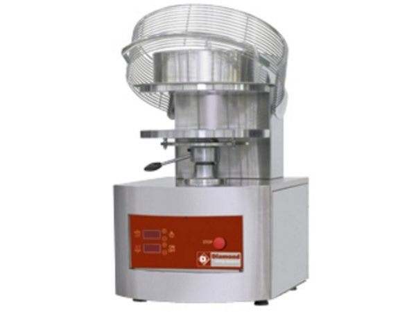 Diamond Pizza Grain crusher / pizza Form | Ø 450 mm | 6,8 Kw - 400V | 550x710x (H) 845mm