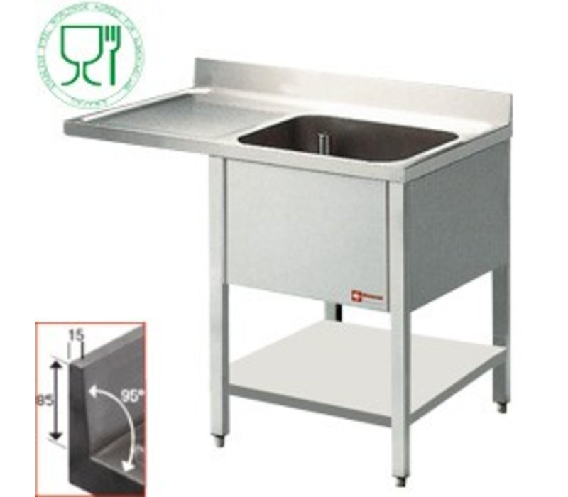 Diamond Sink - 1 container - 1400x700x900 (h) - draining Links