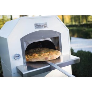 XXLselect Pizza Oven SS 'Combi' | gas | 4 Pizzas | 500 ° C | 700x700x (h) 2030mm