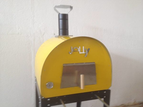XXLselect Pizza-Ofen SS 'Jally'   Charcoal / Wood Fired   2 Pizzen   360 ° C   700X700X (H) 750mm