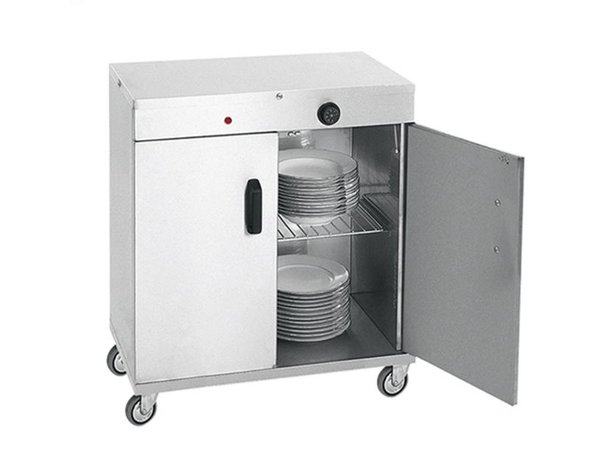 XXLselect Tellerwärmer für 80 Teller - 1000W - 72x44x (h) 80cm