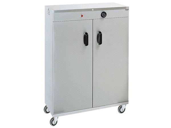 XXLselect Tellerwärmer für 120 Platten - 1000W - 72x44x (h) 101cm
