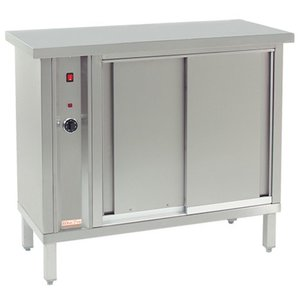 XXLselect Wärmetellerwärmer für 120 Platten - 1000W - 105x46x (h) 90cm