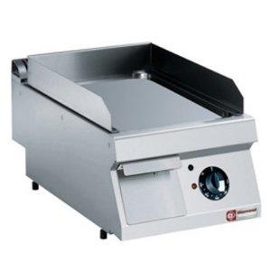 Diamond Bratenplatte Edelstahl | glatten | Tischplatte | 400V / 4,5 kW | 400x700x250 / 320 (h) mm