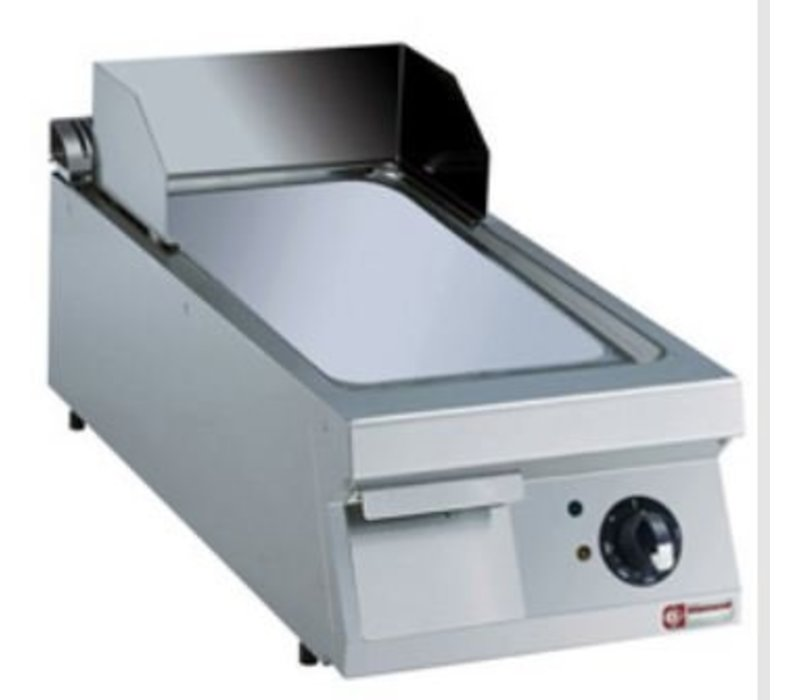Diamond Fry Top Electric SS | glatten | Verchromte Platte | 7,5kW / 400V | 400x900x250 / 320 (h) mm
