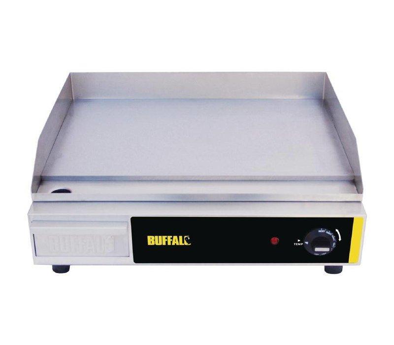 Buffalo Backblech glatt SS - 52x47x (h) 20 cm - Temperatur 60-300C - Plug-and-Tropfschale Abnehmbarer + - 2,2 kW - HEAVY DUTY