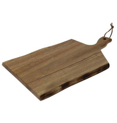 XXLselect Plank Golvende Rand | Acacia Hout | 305x215mm | Handgreep 75mm