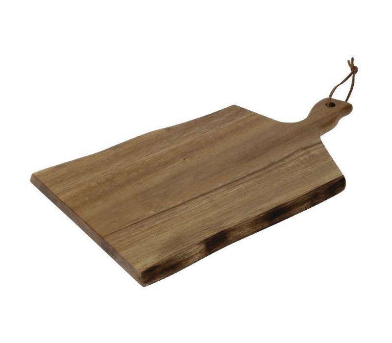 XXLselect Plank Golvende Rand   Acacia Hout   305x215mm   Handgreep 75mm