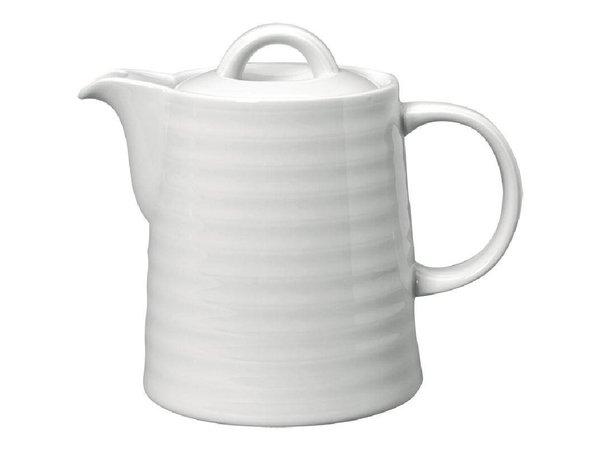 "XXLselect Koffiekan ""Intenzzo"" | Wit Porselein | 370ml"