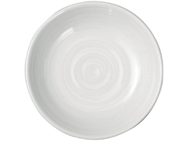 """XXLselect Boterschaaltje """"Intenzzo""""   Wit Porselein   Ø900mm   Per 4 Stuks"""