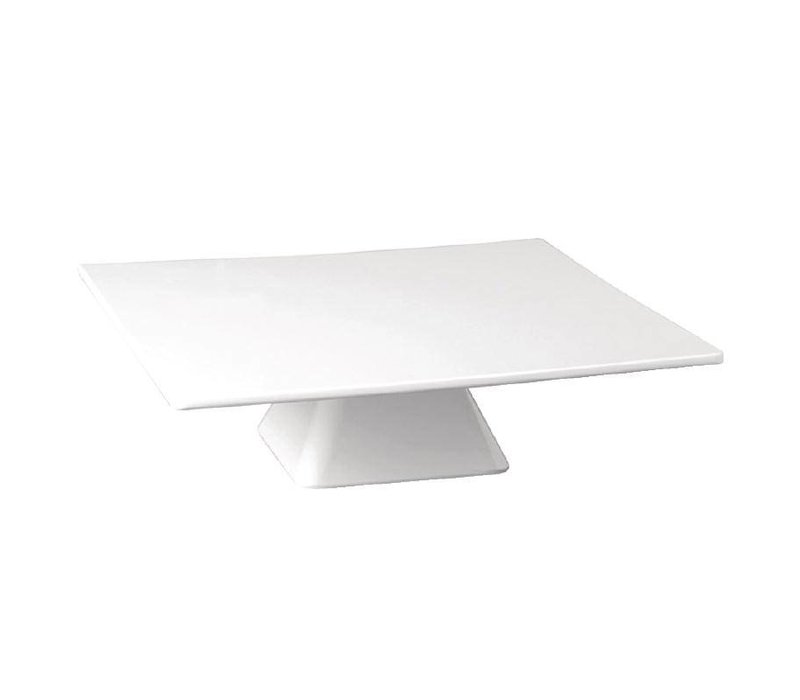 XXLselect Taartstandaard Vierkant | Melamine | 300x300x80(h)mm
