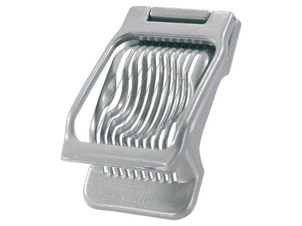 XXLselect Eiersnijder Aluminium | Ovaal of Ronde Schijfjes