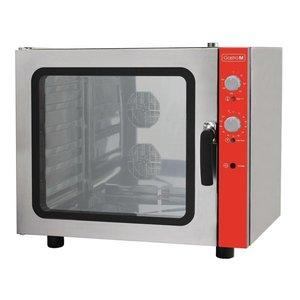 XXLselect Convection Oven 6x 600x400mm + Humidifier | 400V | 825 (b) X710 (d) X710 (H) mm