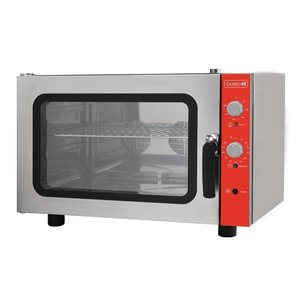 XXLselect Convection Oven 600x400mm 4x + Humidifier | 400V | 825 (b) x685 (d) X560 (H) mm