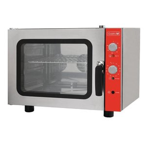 XXLselect Convection Oven 4xGN2 / 3 + Humidifier | 50 ° C - 300 ° C | 230 | 560 (b) X658 (d) x685 (H) mm