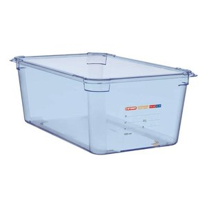 Araven Voedselcontainer Blauw ABS - GN1/1 | 200mm Diep