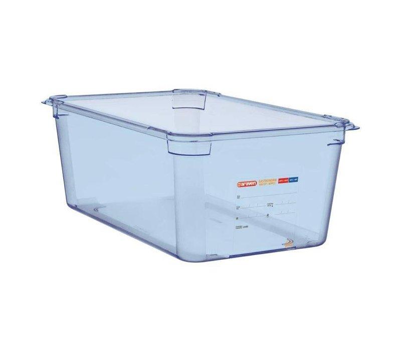 XXLselect Nahrungsmittelbehälter Blau ABS - GN1 / 1 | 200 mm tiefe
