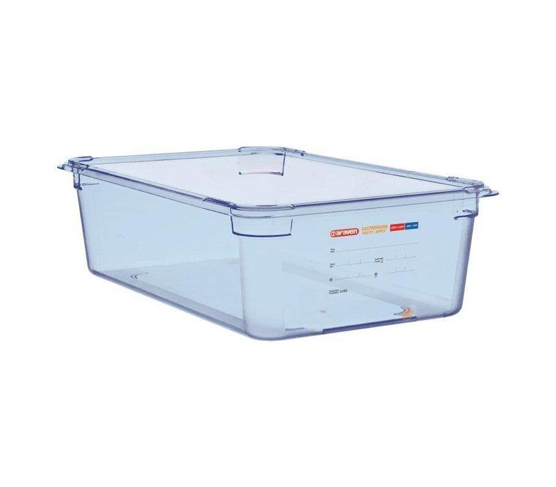 XXLselect Voedselcontainer Blauw ABS - GN1/1 | 150mm Diep