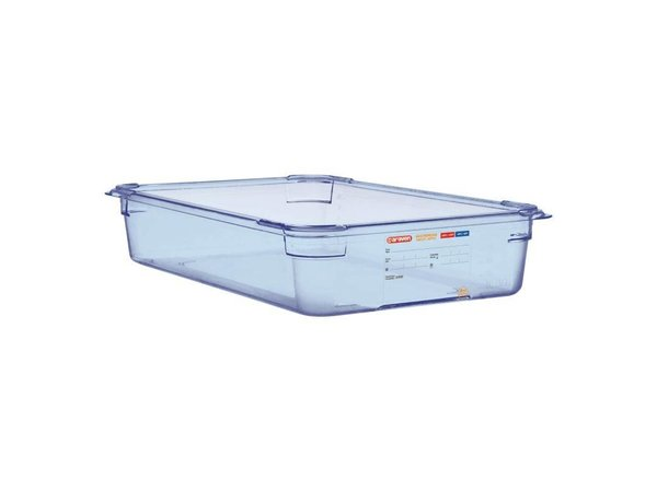 XXLselect Voedselcontainer Blauw ABS - GN1/1 | 100mm Diep