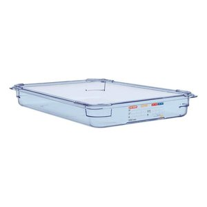 Araven Nahrungsmittelbehälter Blau ABS - GN1 / 1 | 65mm tief