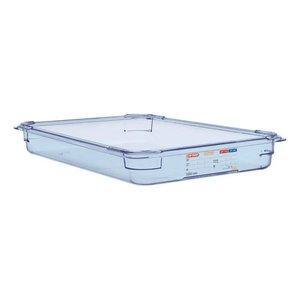 Araven Voedselcontainer Blauw ABS - GN1/1 | 65mm Diep