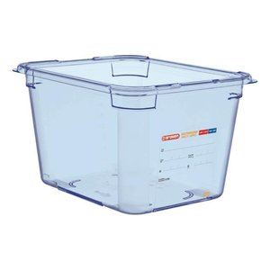 Araven Voedselcontainer Blauw ABS - GN1/2 | 200mm Diep