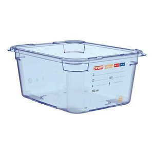 Araven Food Container Blue ABS - GN1 / 2 | 150mm Deep