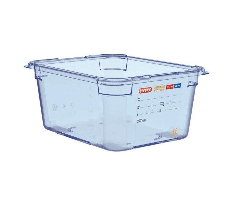XXLselect Voedselcontainer Blauw ABS - GN1/2 | 150mm Diep