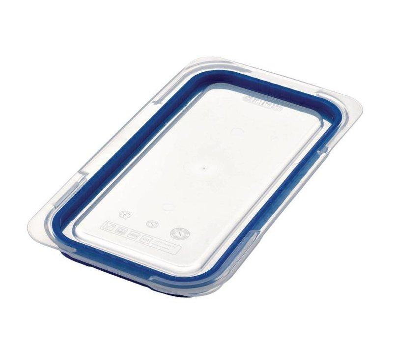 Araven Deckel Blau ABS - GN1 / 3