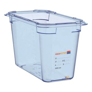 Araven Food Container Blue ABS - GN1 / 3 | 200mm Deep
