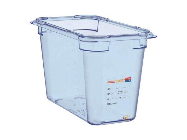 XXLselect Nahrungsmittelbehälter Blau ABS - GN1 / 3 | 200 mm tiefe