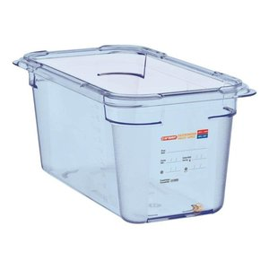 Araven Food Container Blue ABS - GN1 / 3 | 150mm Deep