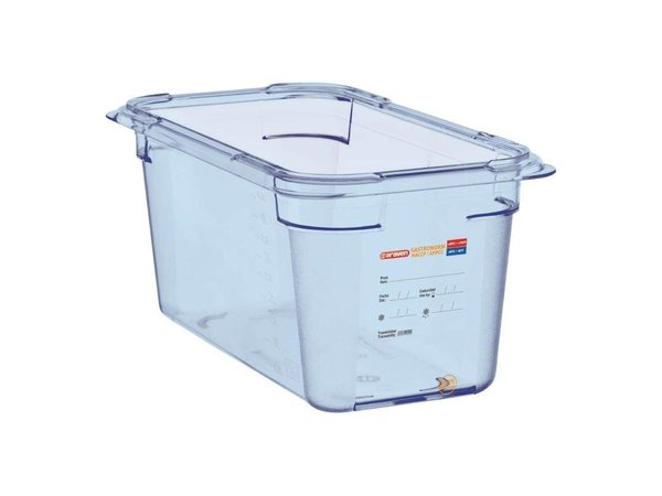 XXLselect Food Container Blue ABS - GN1 / 3   150mm Deep