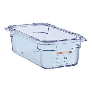 Araven Voedselcontainer Blauw ABS - GN1/3   100mm Diep
