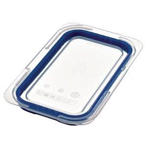 Araven Deckel Blau ABS - GN1 / 4