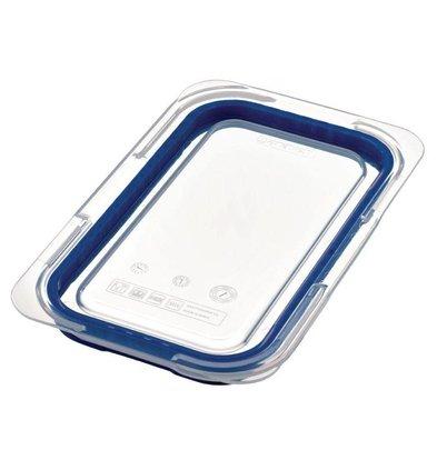 XXLselect Deckel Blau ABS - GN1 / 4