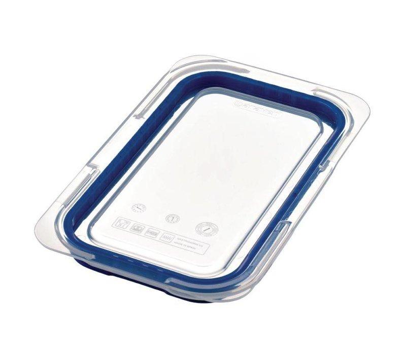 XXLselect Deksel Blauw ABS - GN1/4