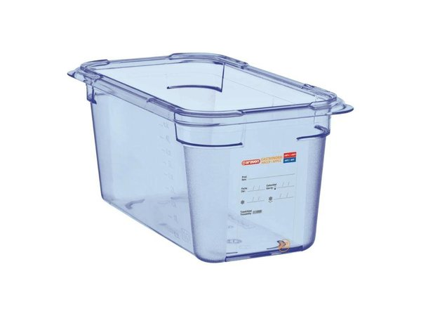 XXLselect Voedselcontainer Blauw ABS - GN1/4 | 150mm Diep