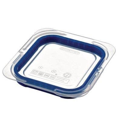 XXLselect Deckel Blau ABS - GN1 / 6