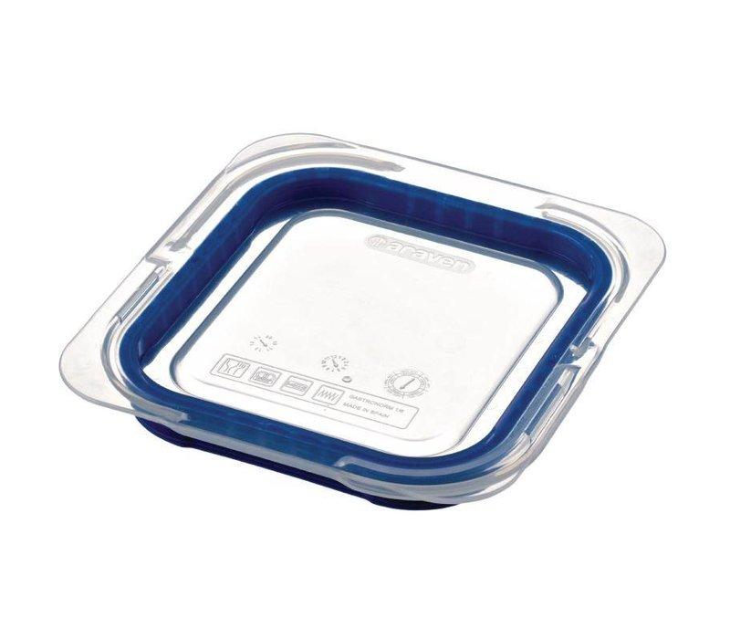 Araven Deckel Blau ABS - GN1 / 6