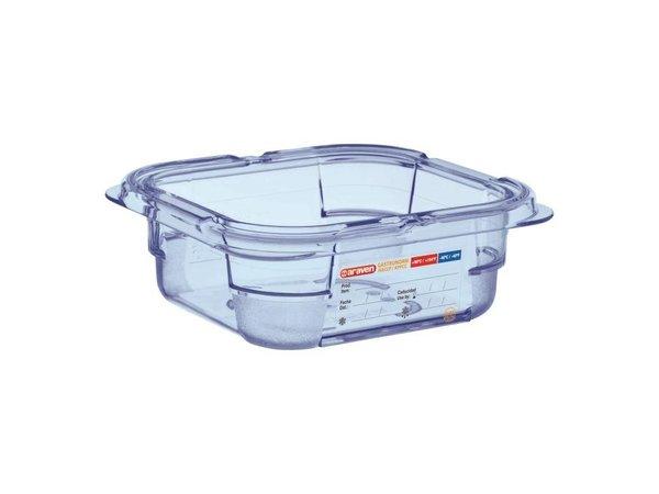 Araven Nahrungsmittelbehälter Blau ABS - GN1 / 6 | 65mm tief
