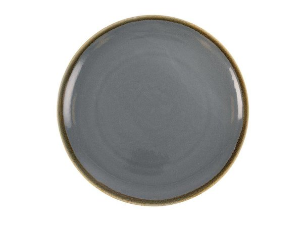 "XXLselect Coupebord ""Kiln""| Blauw Porselein | Ø280mm | Per 4 Stuks"