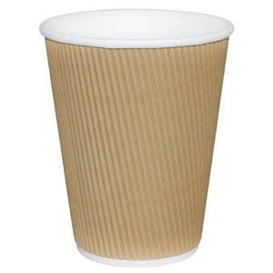 XXLselect Koffiebekers | Lichtbruin | 340ml | 500 Stuks