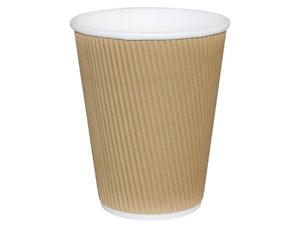 XXLselect Koffiebekers | Lichtbruin | 230ml | 500 Stuks