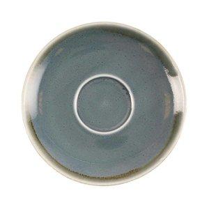 "XXLselect Cappuccino Schoteltje ""Kiln"" | Blauw Porselein | Ø140mm | Per 6 Stuks"