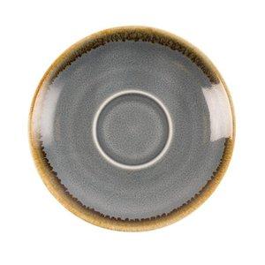 "XXLselect Espresso Schoteltje ""Kiln"" | Blauw Porselein | Ø115mm | Per 6 Stuks"